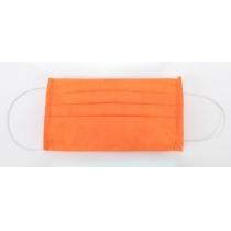 Маска захисна шита, 3-х шарова колір помаранчевий