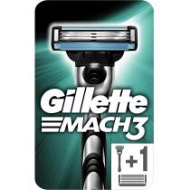 Бритва Gillette Mach 3 з 2 змінними картриджами
