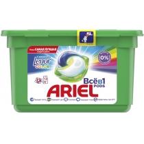 Капсули для прання Ariel Pods Все-в-1 Touch Of Lenor Fresh Color 12 шт