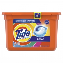 Капсули для прання Tide Все-В-1 Color 15 шт