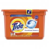 Капсули для прання Tide Все-в-1 Альпійська свіжість 15 шт