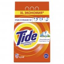 Пральний порошок Tide автомат Альпійська свіжість 4,5 кг