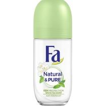 Антиперспірант-ролик Fa Natural & Pure Білий чай 50 мл