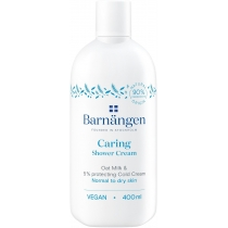 Крем-гель для душу Barnangen Caring з вівсяним молочком для нормальної та сухої шкіри 400 мл