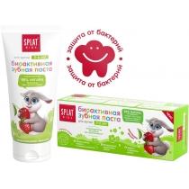 Натуральна антибактеріальна дитяча зубна паста SPLAT KIDS СУНИЦЯ-ВИШНЯ від 2 до 6 років, 50 мл