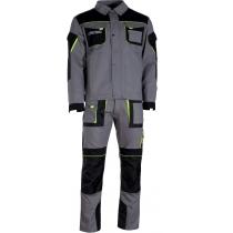 Куртка робоча Дункан К6 сіра р.112-116/182-188
