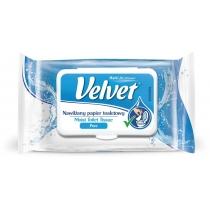 Туалетний папір вологий Velvet Делікатний  42 листа