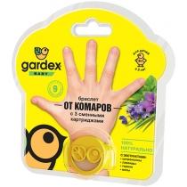 Браслет зі змінним картриджем від комарів Gardex Baby