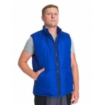 Жилет утеплений 3СМ Волонтер на флісі синій 48-50