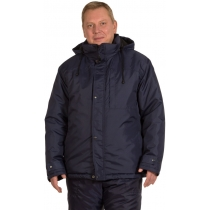 Куртка робоча утеплена Горизонт темно синя р 120-124 / 170-176