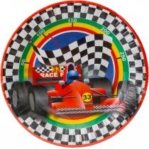 Набір з 6 тарілок паперових Racing, діаметр 17,78 см