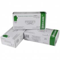 Рукавички оглядові латексні Medicare текстуровані припудрені роз. S (пач - 50 пар) білі
