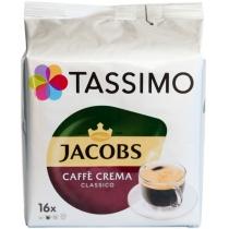 Кава мелена в капсулах JACOBS Тассімо Crema 112 г