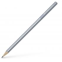 Олівець чорнографітний GRIP SPARKLE сірий тригранні