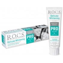 Зубна паста R.O.C.S. PRO Делікатне відбілювання, Sweet Mint, 135г