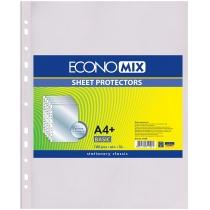 "Файл для документів А4+ Economix, фактура ""глянець"" (100 шт/уп)"