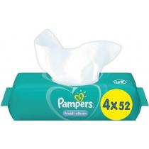 Cерветки Pampers Fresh Clean 4х52 шт