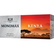 Чай чорний пакетований МОNОМАХ KENYA 25шт х 2г