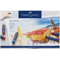 Набір пастелі олійної Faber-Castell Oil Pastels, 36 кольорів