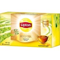 Чай чорний Lipton gold 50шт х 2г