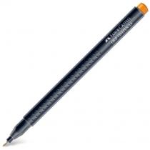 Ручка капілярна Faber-Castell Grip Finepen 0,4 мм жовтий хром