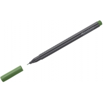 Ручка капілярна Faber-Castell Grip Finepen 0,4 мм зелений