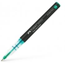 Ручка-роллер Faber-Castell Free Ink колір чорнила зелений, 1,5 мм, одноразова