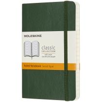 Записник Moleskine Classic 9 х 14 см / Лінійка Миртовий Зелений М'який
