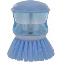 Щітка для миття посуду з дозатором, ECONOMIX CLEANING, блакитна
