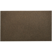 Килимок побутовий текстильний К-504-3, 80*120*0,5 см, коричневий