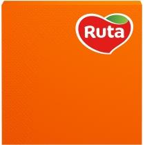 Серветки Ruta тришарові 33х33см помаранчеві 20шт
