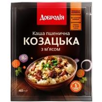 Каша пшенична з м'ясом «Козацька» швидкого приготування 40г (ПП)