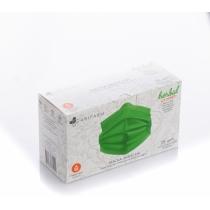 Захисна маска Abifarm HERBAL PROTECT з ефірною олією, 3-шарова стерильна біорозкладні (25 шт в короб