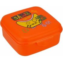 Ланч-бокс (контейнер для їжі) ECONOMIX GAME 850 мл, помаранчевий