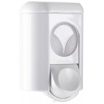 Дозатор рідкого мила Mar Plast  0.35 л, білий, пластик