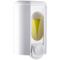 Дозатор рідкого мила ACQUALBA з віконцем 1.1 л, білий, пластик