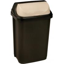 """Відро для сміття """"ROLLTOP""""  50л графiт"""