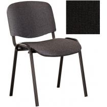 Крісло ISO-17 black, Тканина CAGLIARI, чорний C-11