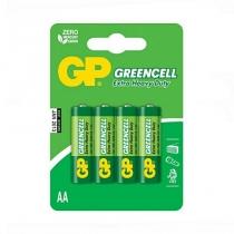 Батарейка GP Greencell AA 4 штуки в упаковці
