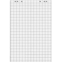 Блокнот для фліпчарту, 20 арк; 64х90см; у клітинку