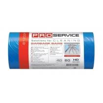 Пакети для сміття 60л / 40шт PRO service