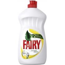 Засіб для миття посуду лимон рідина Fairy 500 мл