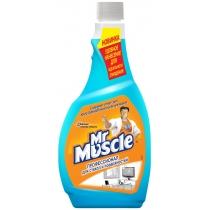 Засіб для скла зі спиртом змінний Містер Мускул 0,5 л
