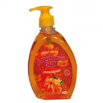 Мило рідке Фруктовый бум з запахом мандарина 460 мл