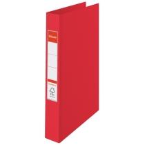 Папка-реєстратор Esselte А4, 2 кільця по 25мм, червона