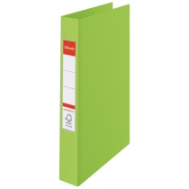 Папка-реєстратор Esselte А4, 2 кільця по 25мм, зелена