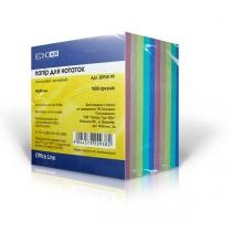 Папір для нотаток Economix, кольоровий, 90х90, 1000 арк.
