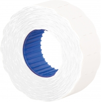 Етикетки-цінники Economix 22х12 мм білі (1000 шт. / рул.), E22301-14