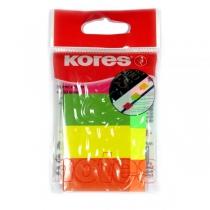 Стікери-закладки Kores, 20х50, паперові