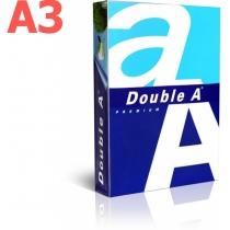 Папір офісний Double A A3 80 г/м2, 500 арк., клас A
